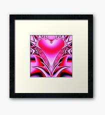 Gothic heart  Framed Print