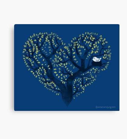 Home is where the nest is Canvas Print