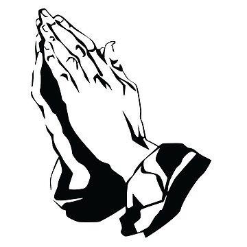 Drake inspired praying hands by AnnaSaether