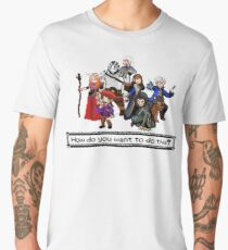 Vox Machina - Pixel Art Men's Premium T-Shirt