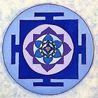 Mandala of Peace by vickievansart
