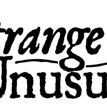 strange and unusal by hawkeyedpeas