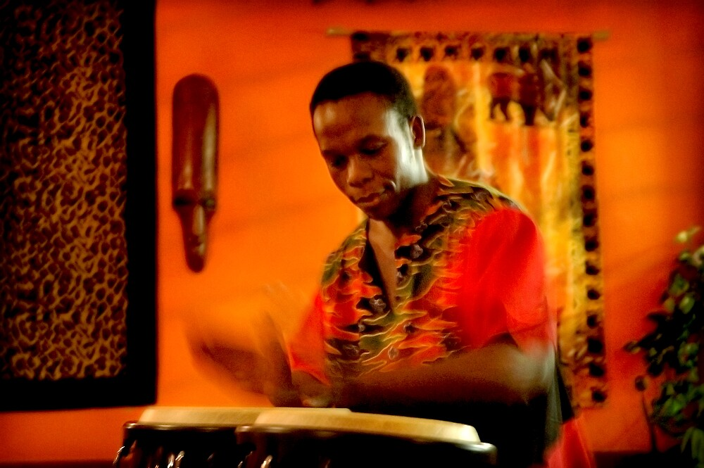 David on Drums by Frank  McDonald