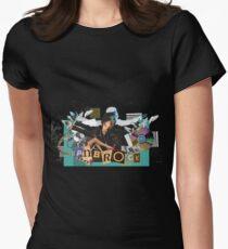 pnb rock fleek  Women's Fitted T-Shirt