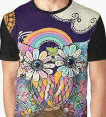 Aloha Owls Graphic T-Shirt