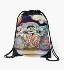 Aloha Owls Drawstring Bag