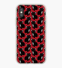 Cute Brindle Frenchie Puppy iPhone Case