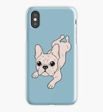 Frog Leg Cream French Bulldog iPhone Case/Skin