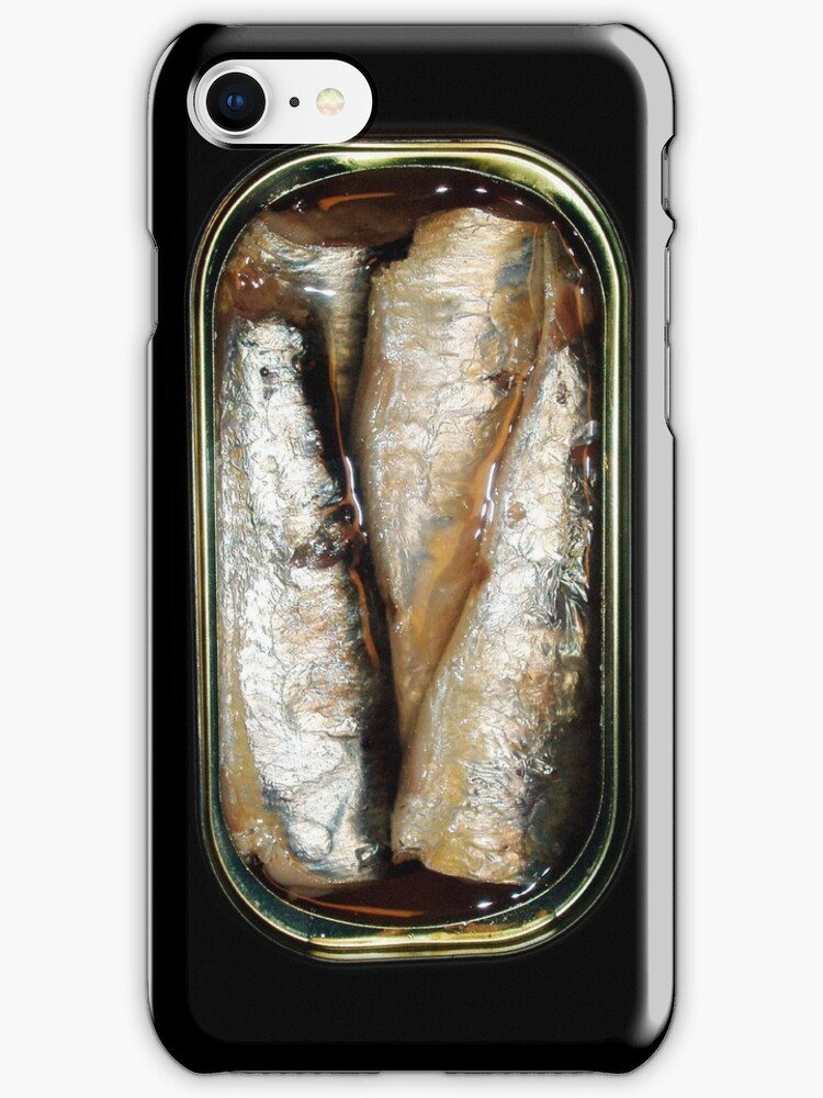 Sardine can (iPhone case) by ikado