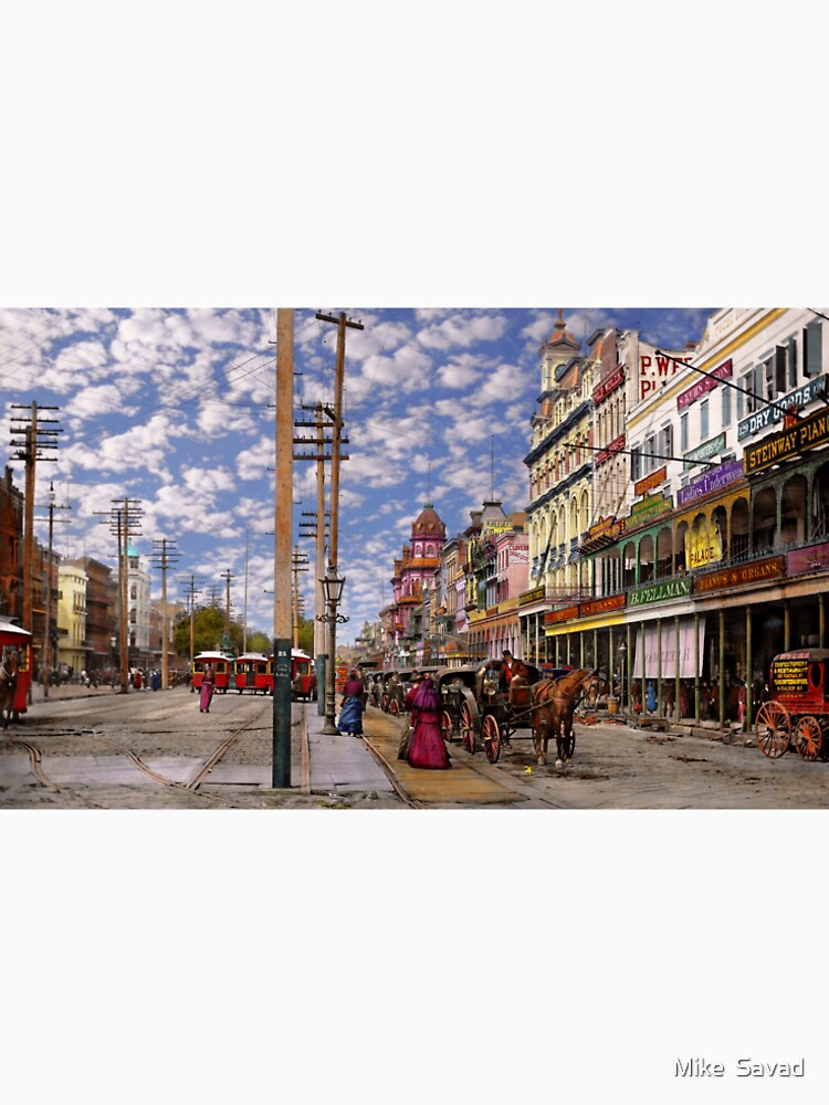 City - New Orleans - New Orleans the Victorian era 1887 by mikesavad