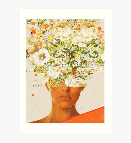 SuperFlowerHead Art Print