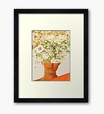 SuperFlowerHead Framed Print