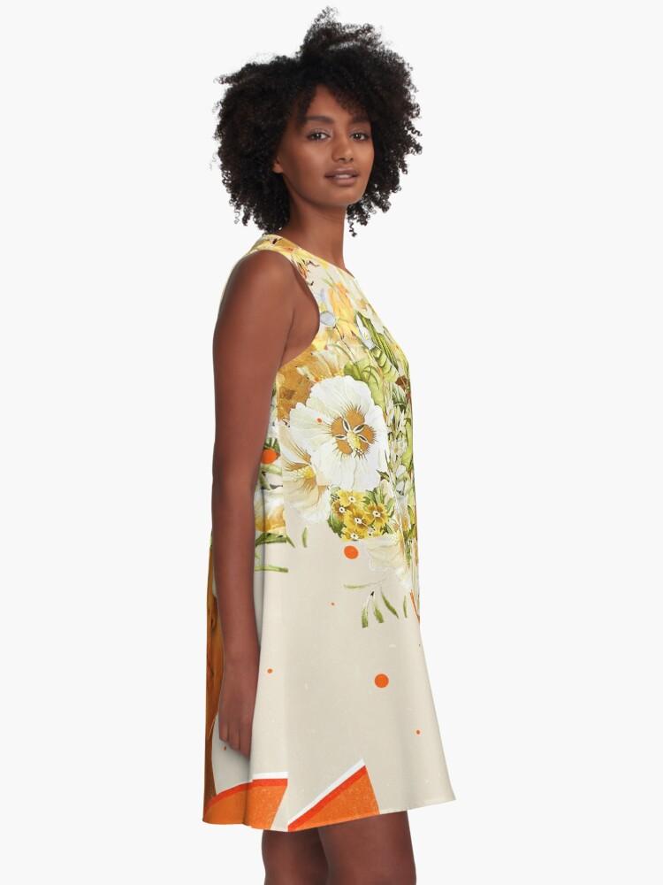 Alternate view of SuperFlowerHead A-Line Dress