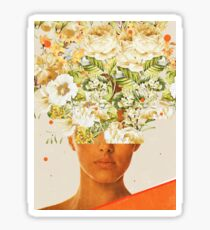 SuperFlowerHead Sticker