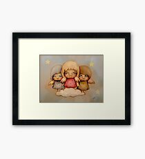 angel dust Framed Print