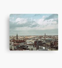 Berlin Urban Landscape Canvas Print