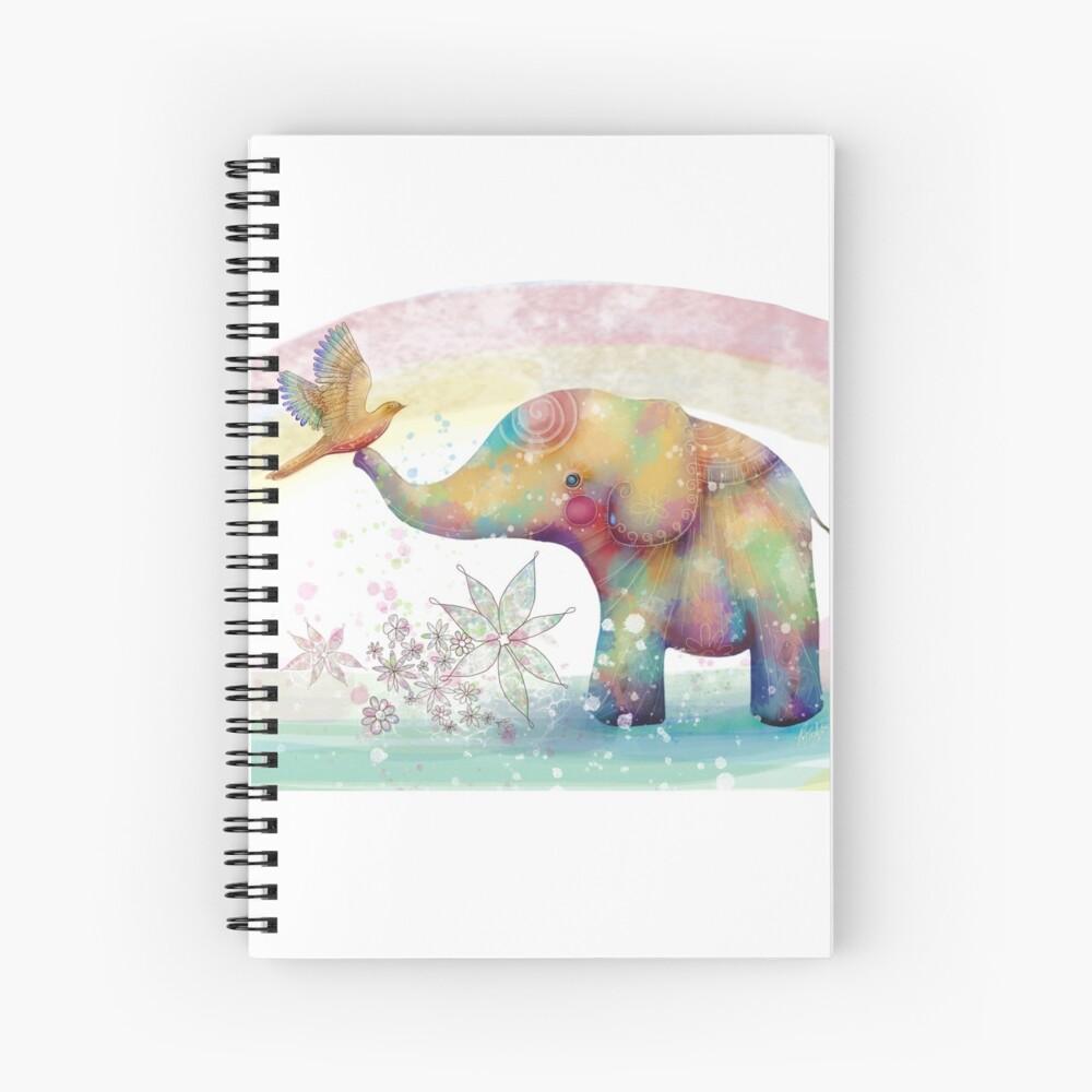 Der Indigo-Elefant Spiralblock