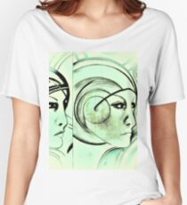 sci fi dreaming Jacqueline Mcculloch Women's Relaxed Fit T-Shirt
