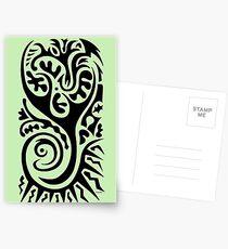Primitive Tattoo  Postcards