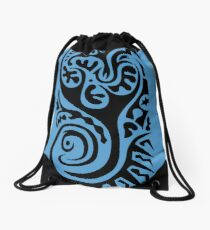 Primitive Tattoo  Drawstring Bag