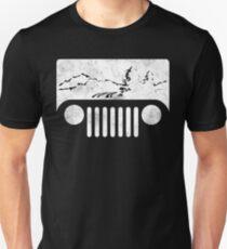 (White) Adventuring Jeep T-Shirt Unisex T-Shirt