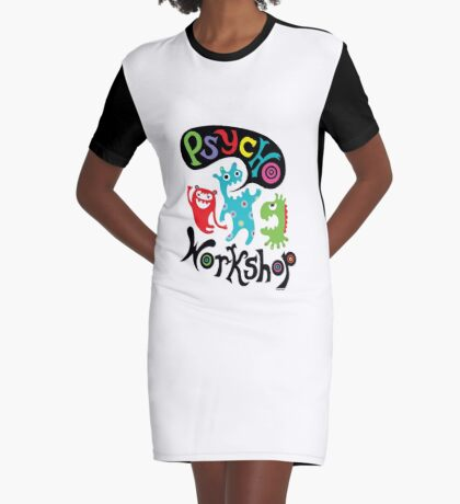 Psycho Workshop Graphic T-Shirt Dress