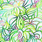 Floral Pattern in Pastel Tones by CarolineLembke