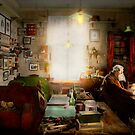 Office - Ole Tobias Olsen 1900 by Michael Savad