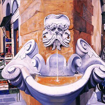 Piazza Frescobaldi by matteopaints