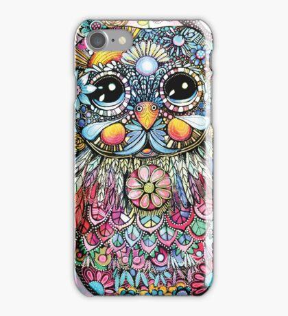Rainbow of Peace Owl iPhone Case/Skin