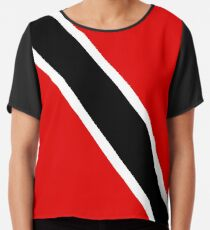 Trinis Represent! Official Trinidad Merch Chiffon Top