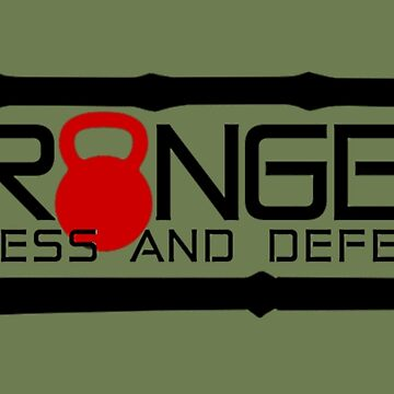 Red Full Logo for Granger Fitness and Defense  by johngranger