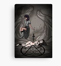Dark Ritual Canvas Print