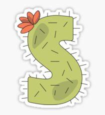 Cactus S Sticker
