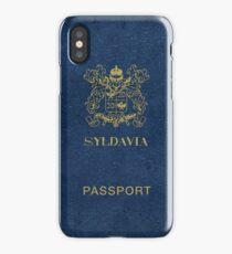 Syldavian Passport (iPhone case) iPhone Case/Skin