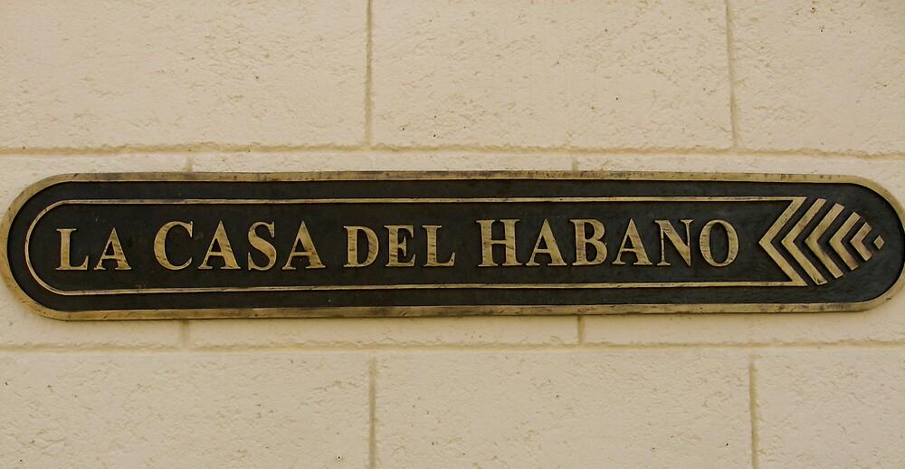 La Casa Del Habano by JaneTara Oliver