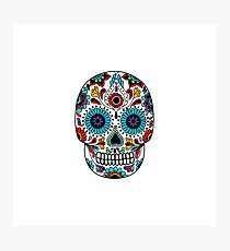calavera. day of the dead Photographic Print