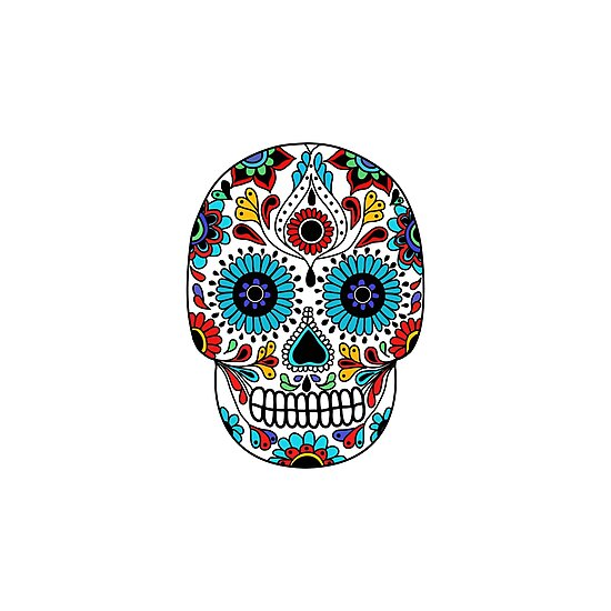 calavera. day of the dead by zizimentos