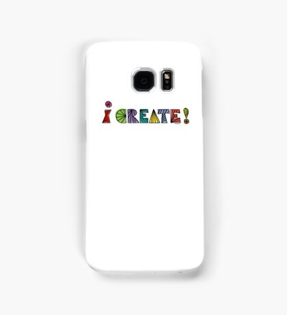 i create with lines  Samsung Galaxy Case/Skin