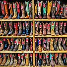 Cowboy Bootery - Fort Worth Stockyards Texas USA by TonyCrehan