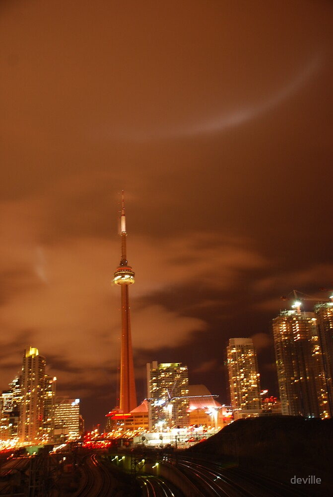 toronto at nite by deville