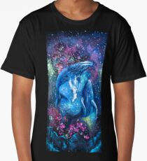 Space Whales Long T-Shirt