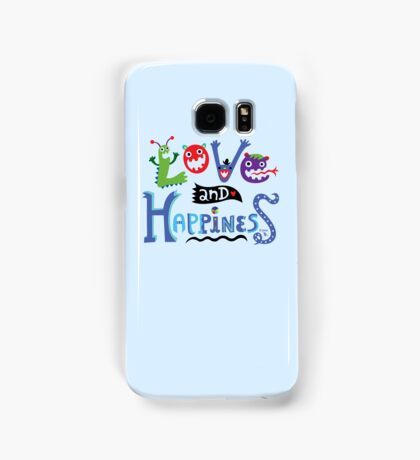 Love and Happiness  Samsung Galaxy Case/Skin