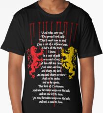 Rains of Castamere Long T-Shirt