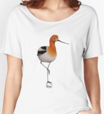 American Avocet by Rick Simpson Women's Relaxed Fit T-Shirt