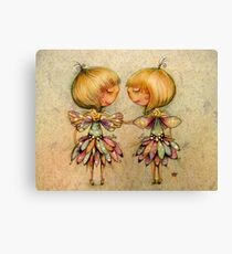 fairy dance Canvas Print