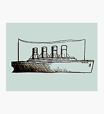 Ghost Liner Photographic Print