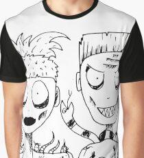 DIE ANTWOORD - YOLANDI & NINJA Graphic T-Shirt