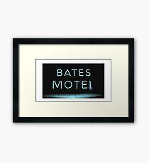 bates mote Framed Print