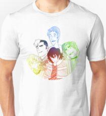 Rainbow Voltron Unisex T-Shirt